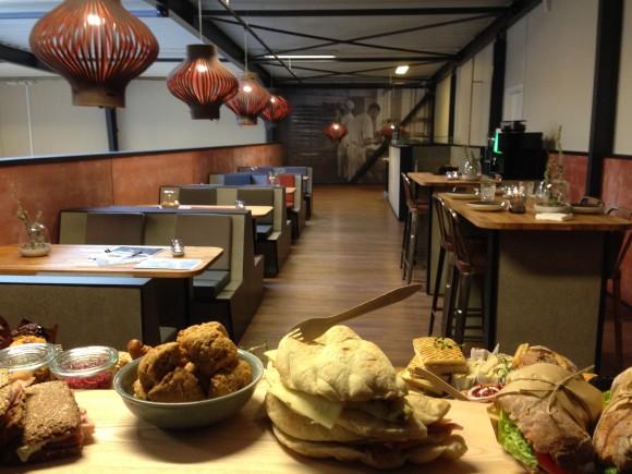 View fra buffet - café Easyfood - innovationscenter