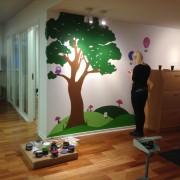 Børnehjørne Spar Nord Kolding - udført af Stine Thomsen
