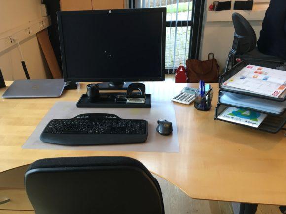 Design skrivebord Easyfood