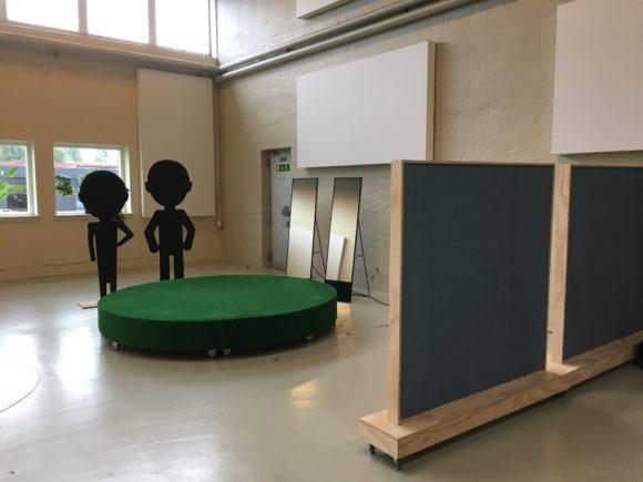 Akustisk afskærming Jobcenter Kolding