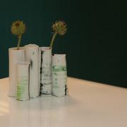 Janni Godtliebsens vaser er en skulptur i sig selv