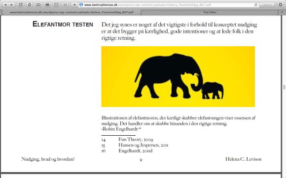 Elefantmor testen
