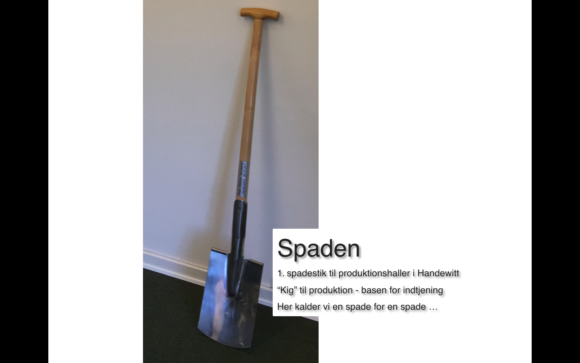 Første spadestik Vega Salmon - Bettina Therese Indretning