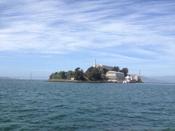 Alcatraz på afstand