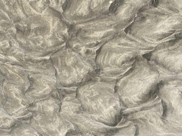 Mønster i strandsandet
